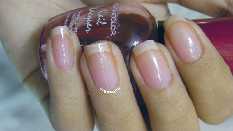Kleancolor Sheer Red Swatch by Nailz4fun