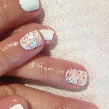 Lots of Dots nail art by Vanessa Jenelle