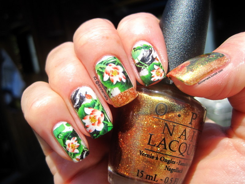 Spring Into Summer nail art by Donner