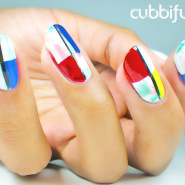 Inoeh Gets Artsy - Solo Shot nail art by Cubbiful