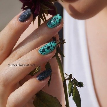 I'd Do Anything For Love nail art by 74ines