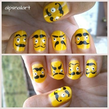 Alpsnailart 20  20moustache 20upside 20down thumb370f