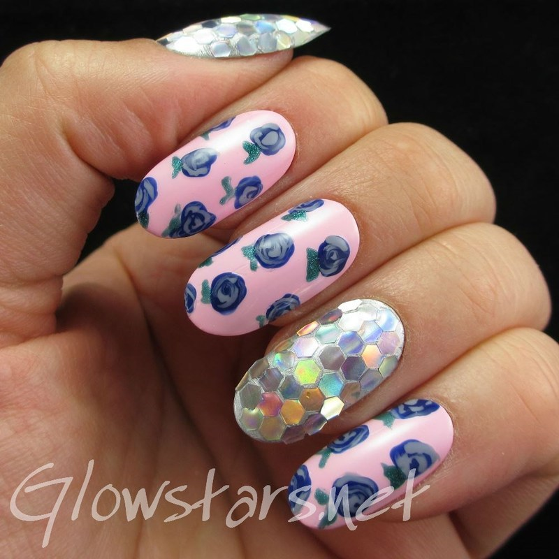 I swear she's destined for the screen nail art by Vic 'Glowstars' Pires
