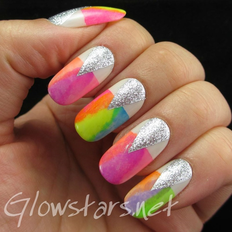 With all your magic I disappear from view nail art by Vic 'Glowstars' Pires