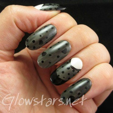 Don't give me love, I've had my share nail art by Vic 'Glowstars' Pires