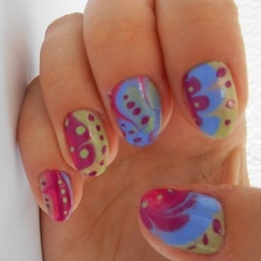 WM2 nail art by Brankica