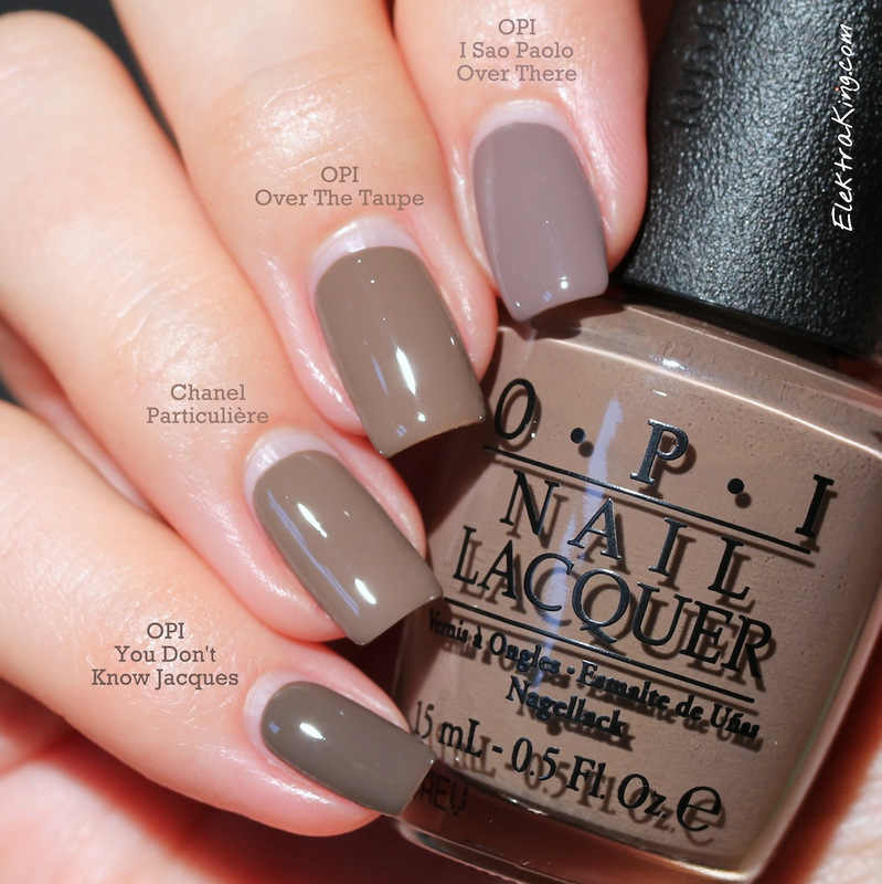 Opi You Don T Know Jacques Chanel Particuliere Opi Over