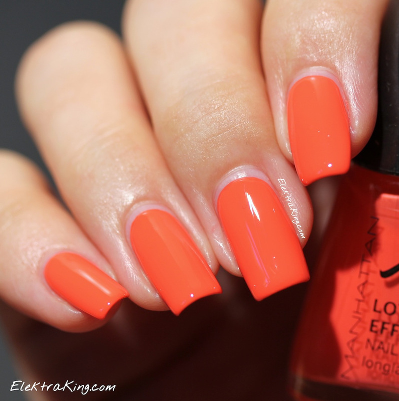 Manhattan Coral Clubbeat Swatch by Elektra King