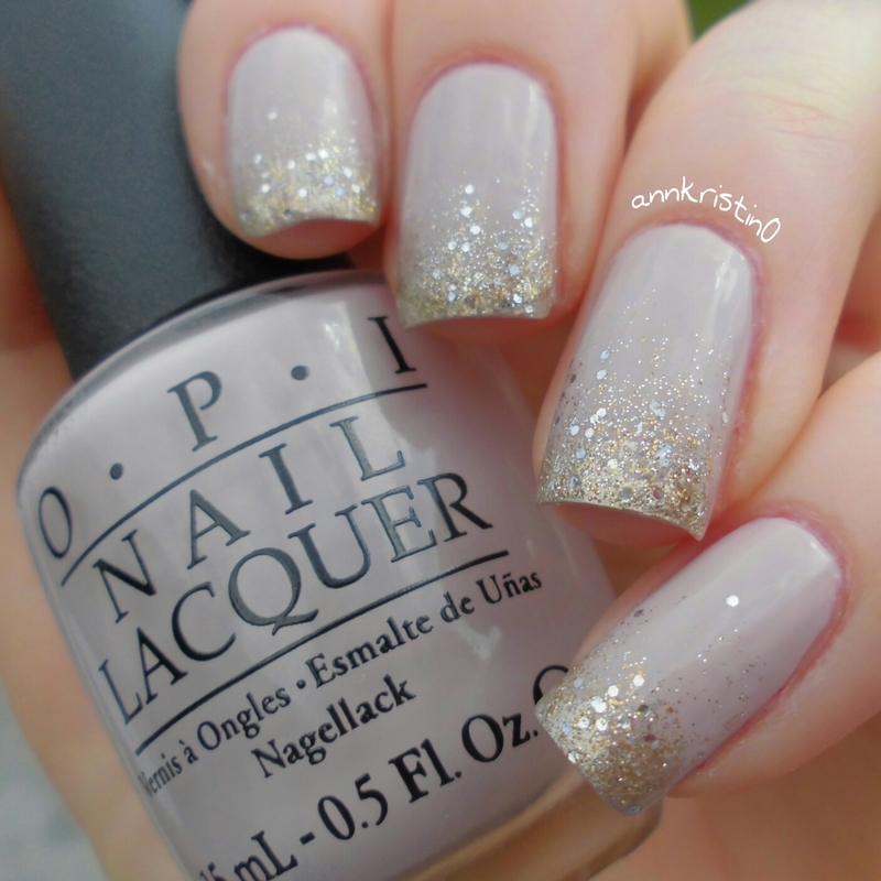 Orly Halo Nude Gradient 2 nail art by Ann-Kristin