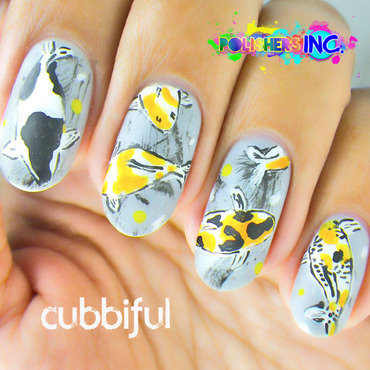 POLISHER'S INC. - Inspired by Nature Solo Shot nail art by Cubbiful