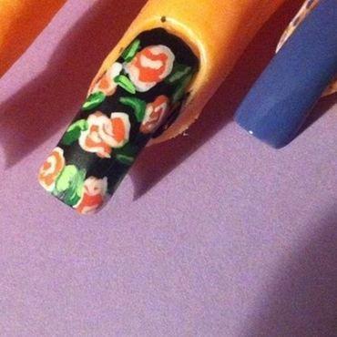 Sinful Colors Roses nail art by Rhiannon_Nail_Art