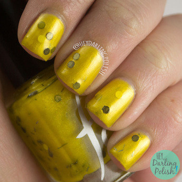 Fandom Cosmetics Just And Loyal Swatch by Marisa  Cavanaugh