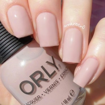 Orly Dare to Bare Swatch by Ann-Kristin