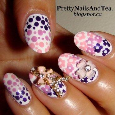 Pretty Nails In Paris nail art by PrettyNailsAndTea