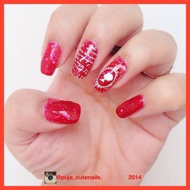 Story of a queen nail art by Puja Malhotra
