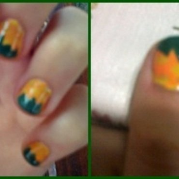 Pineapple nail art by LOreeNA