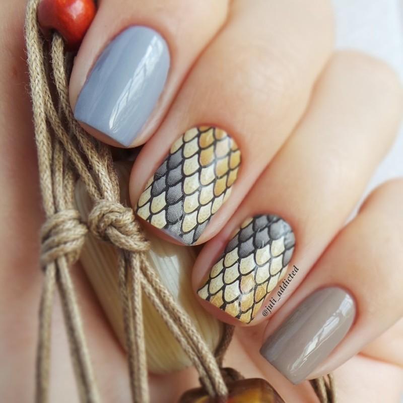 #9 nail art by Juli