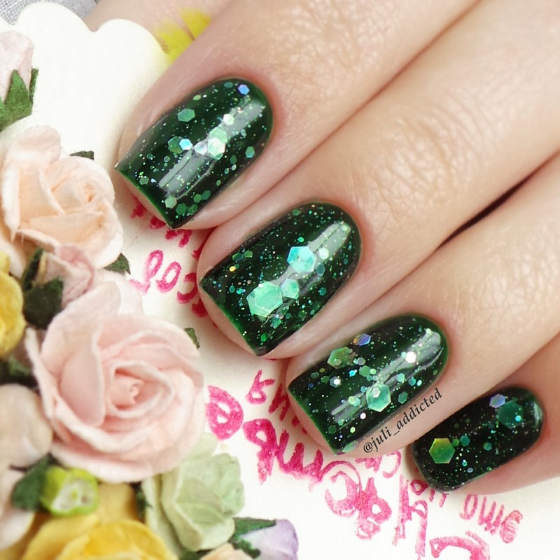 KBShimmer Green Hex&Glam Swatch by Juli
