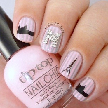 French affair nail art by Michelle