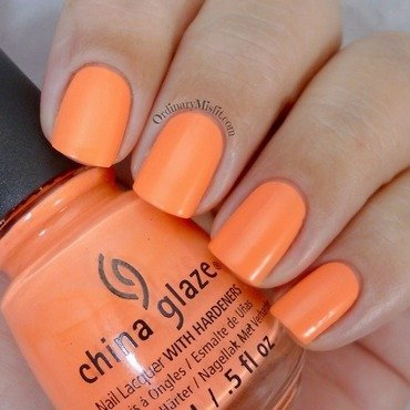 China Glaze Flip flop fantasy Swatch by Michelle