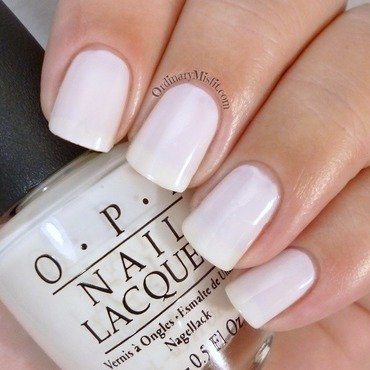 OPI Funny Bunny Swatch by Michelle