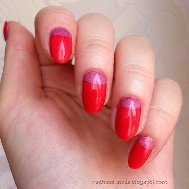 Colour Alike Wata cukrowa and Colour Alike Lajkonik Swatch by Redhead Nails