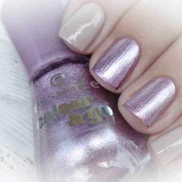 Essence Colour & Go Pink & Proud and Miss Sporty Colour Clubbing 31 Swatch by Romana