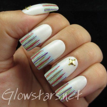 Nail Max Collections vol. 10 – Design Colorful 012 nail art by Vic 'Glowstars' Pires