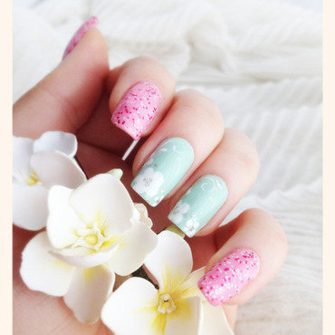 Pastel Nails nail art by Bazavan Diana