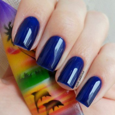 Ga-De №447, Sapphire blue Swatch by Juli