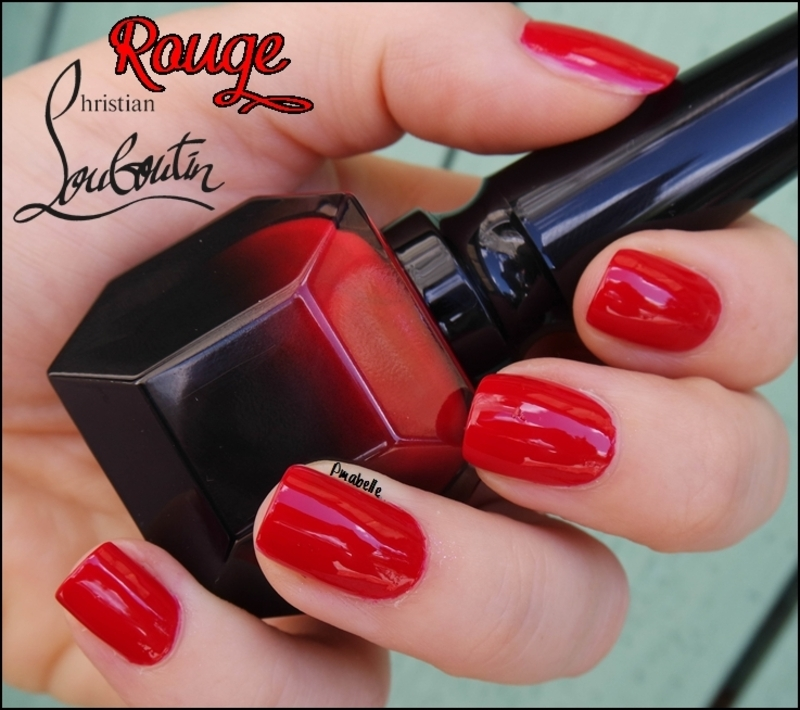 Rouge Louboutin nail art by Pmabelle