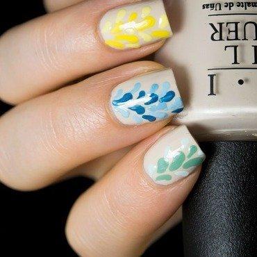Multi color nail art 6 thumb370f