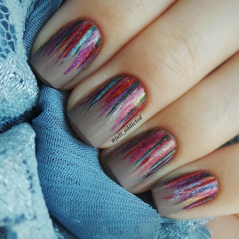 #16 nail art by Juli