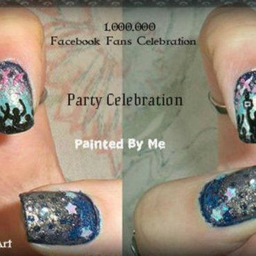 Party Celebration Nails nail art by Elpiola Lluka