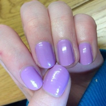 Purple Nails by Kelly Greenwood