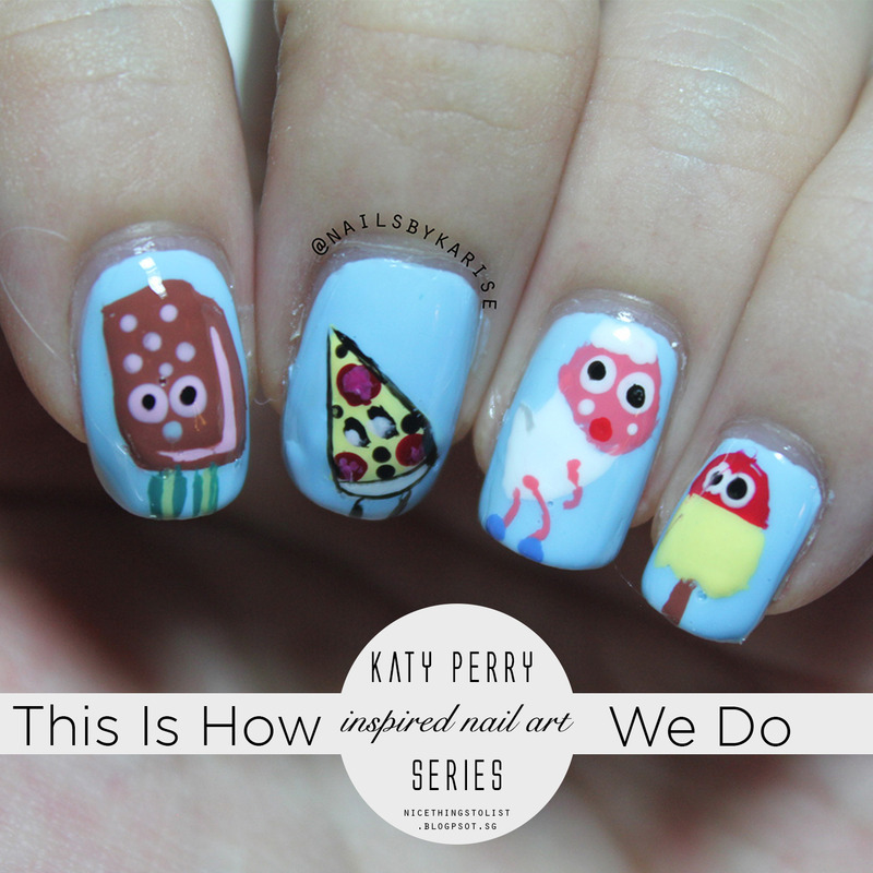 This Is How We Do Katy Perry Inspired nail art nail art by Karise ...