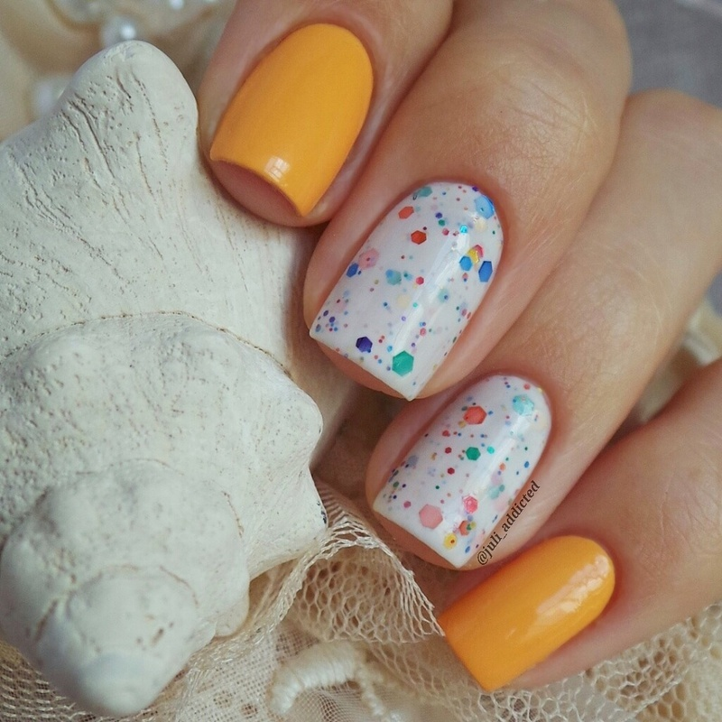 KBShimmer Oh, Splat! and Anny №157, Princess of waves Swatch by Juli