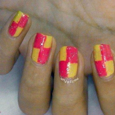 Color Block | Geometric Nails! nail art by Nailz4fun