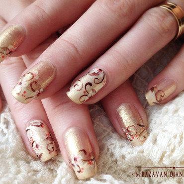 Bridal Nail Design nail art by Bazavan Diana