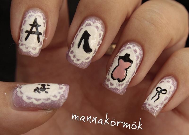 france nail art nail art by Marianna Kovács