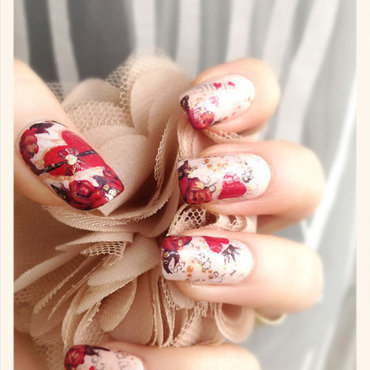 Love Story Manicure nail art by Bazavan Diana