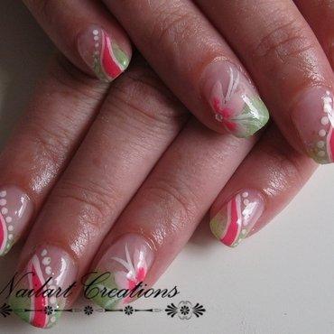 Pink Surprise nail art by Nailart Creations
