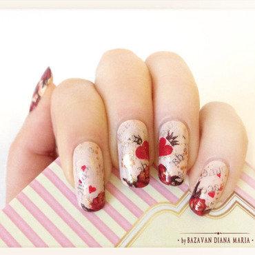 Love Nail Art nail art by Bazavan Diana