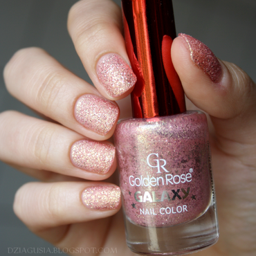 Golden Rose Galaxy # 21 Swatch by Magda