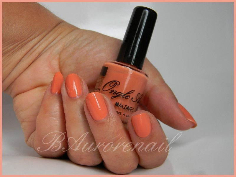 Ongle Amor Maldives Swatch by BAurorenail