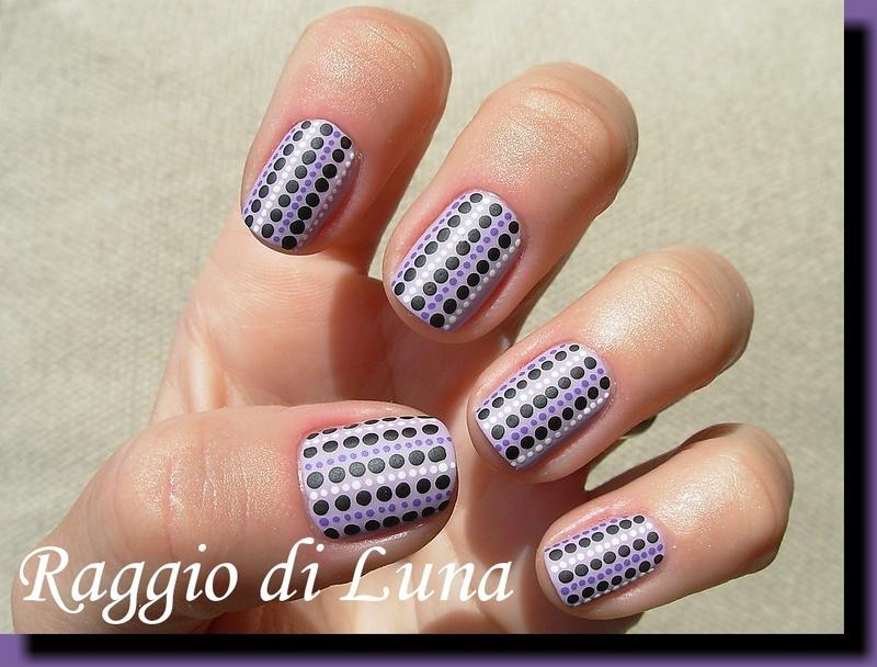I love dots nail art by Tanja
