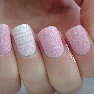 Pink tribal nails 20 4  thumb370f