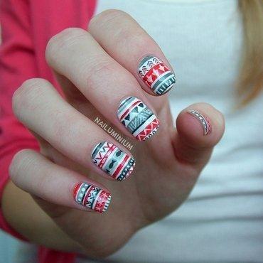 Christmas nails 20 8  thumb370f