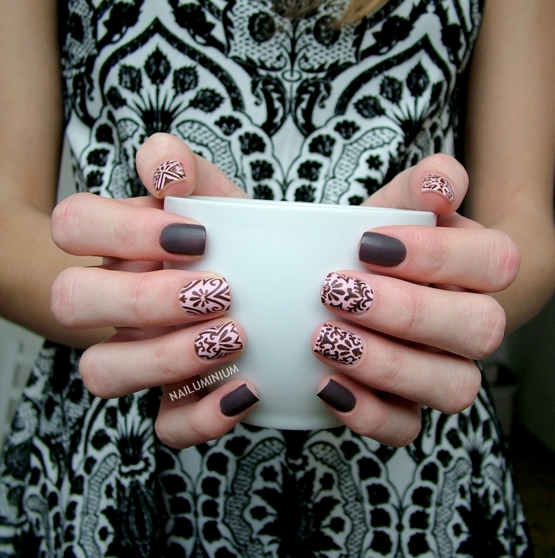 Baroque Nails nail art by Margee C.