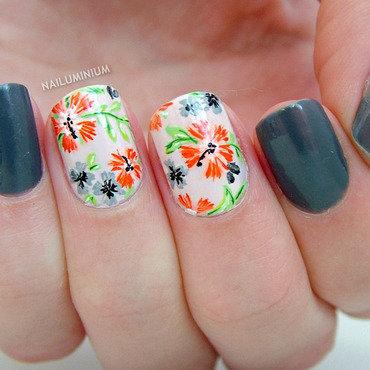 Floral nails 20 2  thumb370f